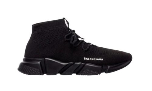 Speed Trainer Lace Up Black - AvaSneaker