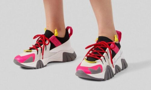SQUALO TRAINERS KNIT PRINT 2 - AvaSneaker