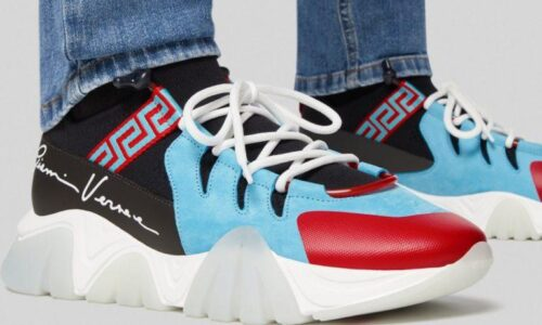 SQUALO TRAINERS KNIT PRINT - AvaSneaker